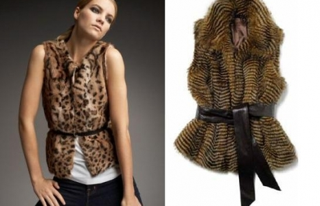 Fall 2011 Trend Watch: The Fur Vest